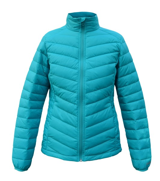Swansea Ladies Jacke Featherless, türkis