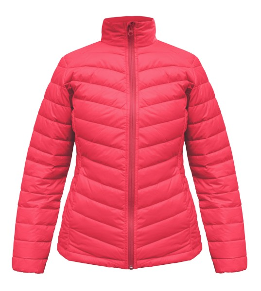Swansea Ladies Jacke Featherless, pink