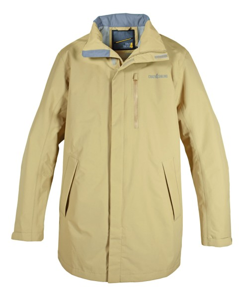 Cardiff Men Jacket, long - beige