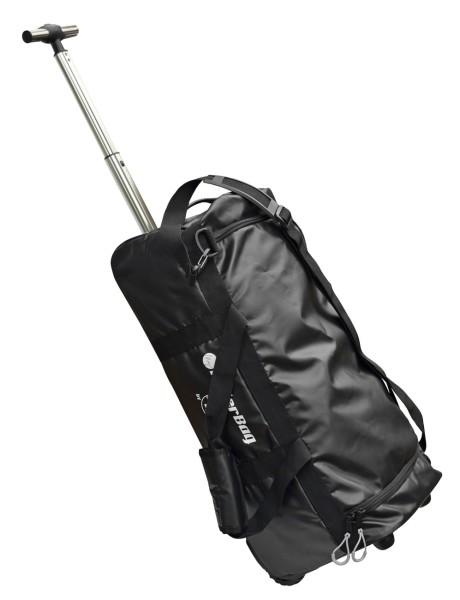 C4S Reise-Trolley PVC, schwarz