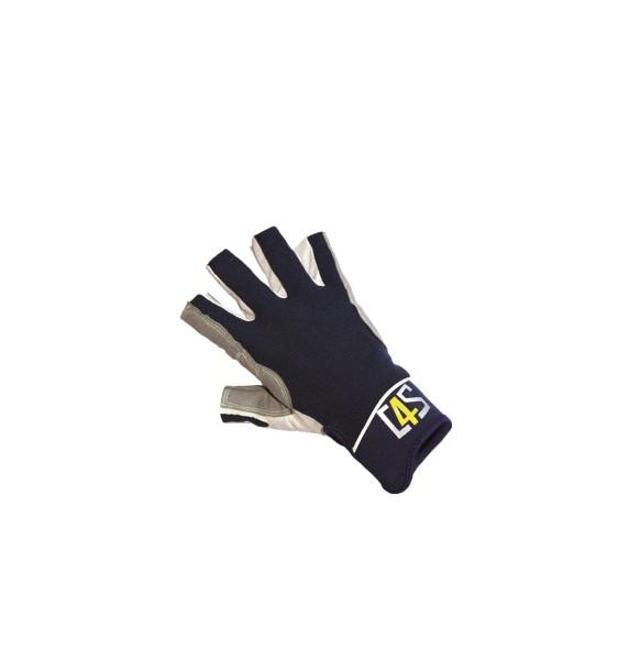 c4s Racing Segelhandschuhe - 5 Finger geschnitten, navy