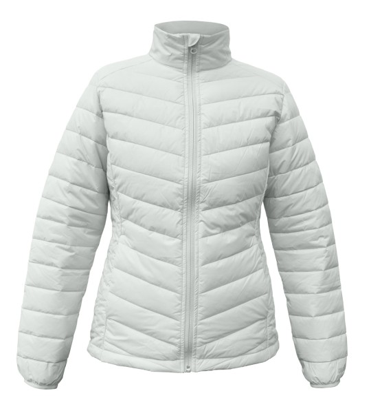 Swansea Ladies Jacke Featherless, silbergrau